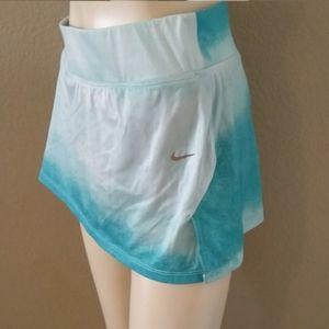 Nike dri-fit built in shorts tennis skirt size S